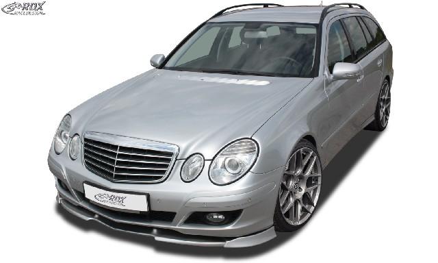 Frontspoiler VARIO-X MERCEDES E-Klasse W211 2006+ Frontlippe Front Ansatz Vorne Spoilerlippe