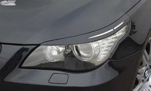 Scheinwerferblenden BMW 5er E60 / E61 2007+ Böser Blick