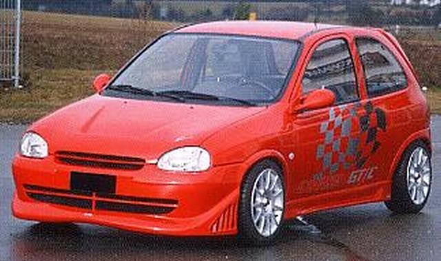Lumma Seitenschweller Opel Corsa B