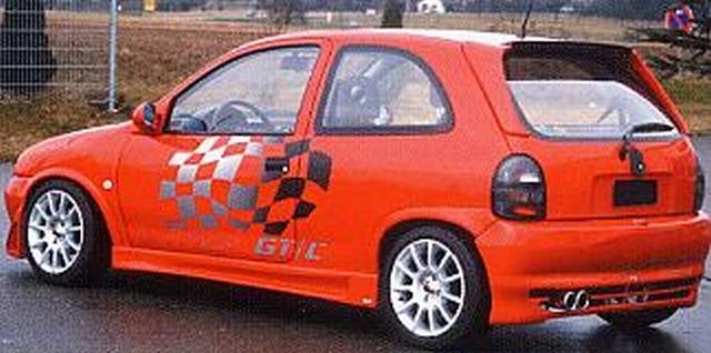 Lumma Heckstoßstange Opel Corsa B