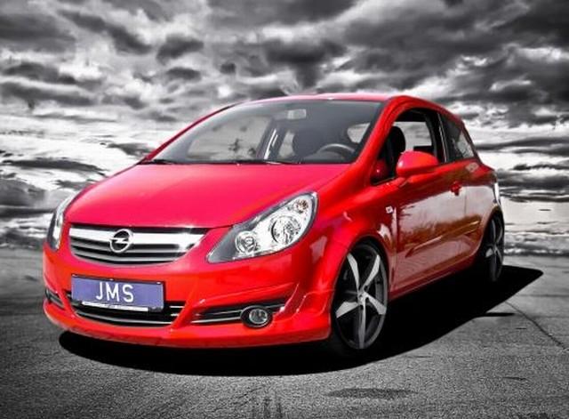 JMS Racelook Frontlippe Opel Corsa D