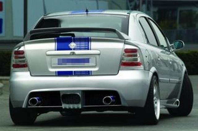 JMS Racelook Heckstoßstange Opel Astra G Fließheck