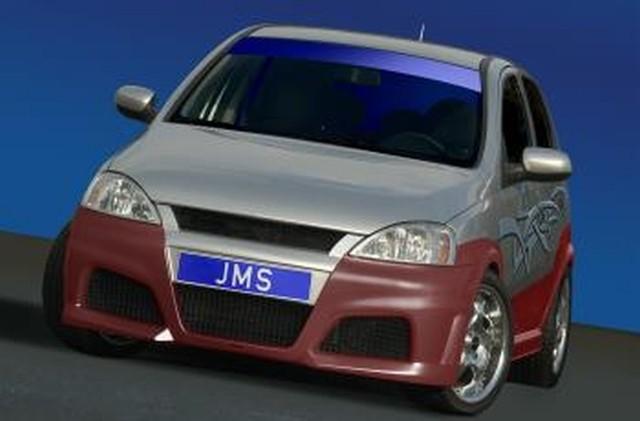 JMS Racelook Frontstoßstange Opel Corsa C