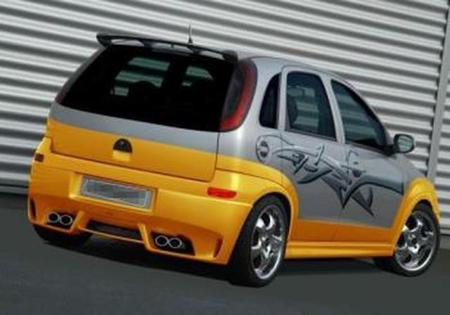 JMS Racelook Heckansatz Opel Corsa C