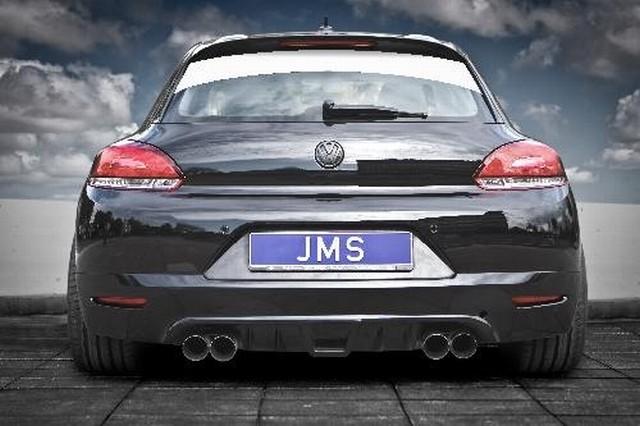 JMS Heckansatz Racelook incl. Diffusor und Echtcarboneinsatz VW Scirocco III