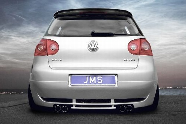 JMS Heckansatz Racelook mit Diffusor VW Golf 5