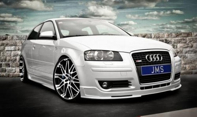 JMS Racelook Exclusive Line Frontlippe Audi A3 8P
