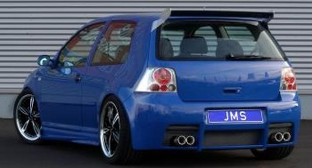 JMS Heckstoßstange Racelook VW Golf 4