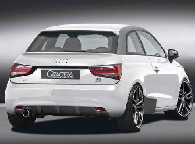 Caractere Heckklappenspoiler Audi A1