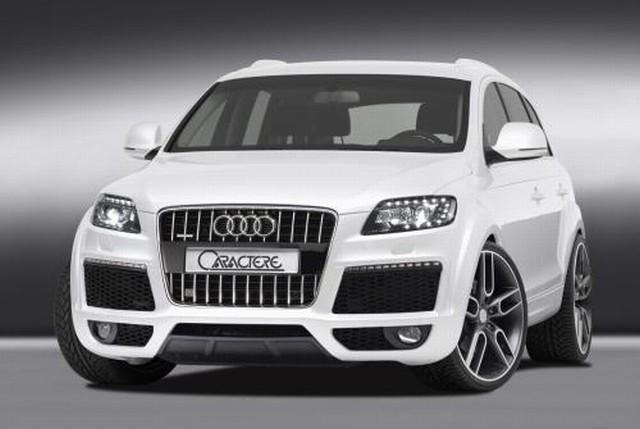 Caractere Frontstoßstange Audi Q7 ab Facelift