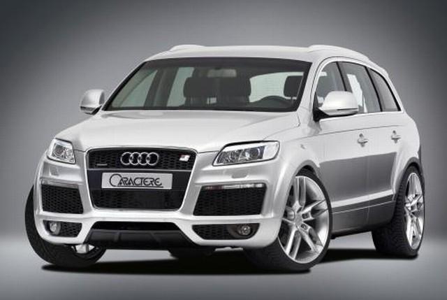Caractere Frontstoßstange Audi Q7 bis Facelift