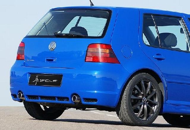 Hofele Heckschürze R32-Look mit Ausschnitte für Endrohre VW Golf 4