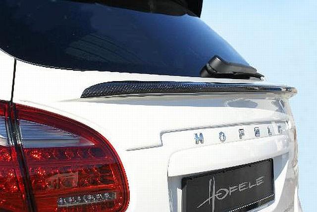 Hofele Carbon Heckklappenspoiler Porsche Cayenne 958