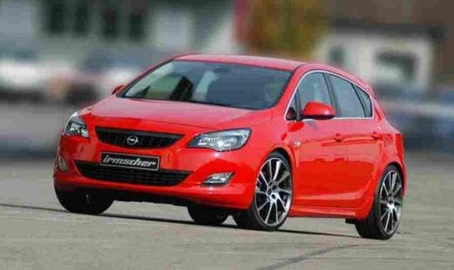 Irmscher Frontlippe Opel Astra J 5-türer und Sports Tourer