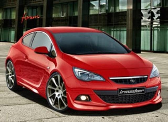 Irmscher Frontlippe Opel Astra J GTC