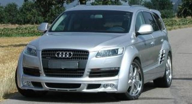 JE Design Verbreiterungen für Radläufe Audi Q7