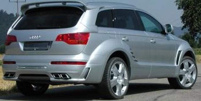 JE Design Heckspoiler Audi Q7
