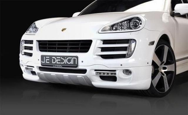 JE DESIGN Frontstoßstange Porsche Cayenne, mit LED Tagfahrlicht