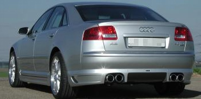 JE Design Heckansatz Audi A8 4E