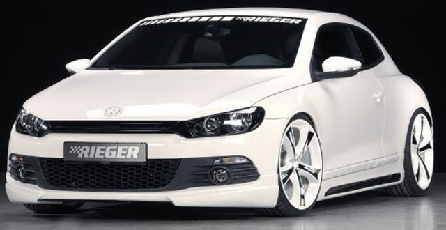 Frontlippe Rieger Tuning VW Scirocco III
