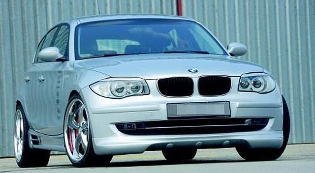 Rieger Frontlippe BMW 1er E87 Facelift