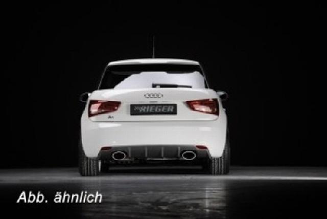 Rieger Heckeinsatz Audi A1 für Rieger Endschalldämpfer links/rechts