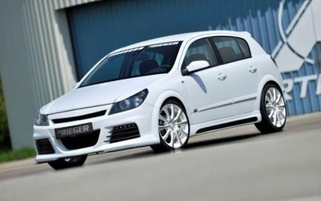 Rieger Seitenschweller Opel Astra H