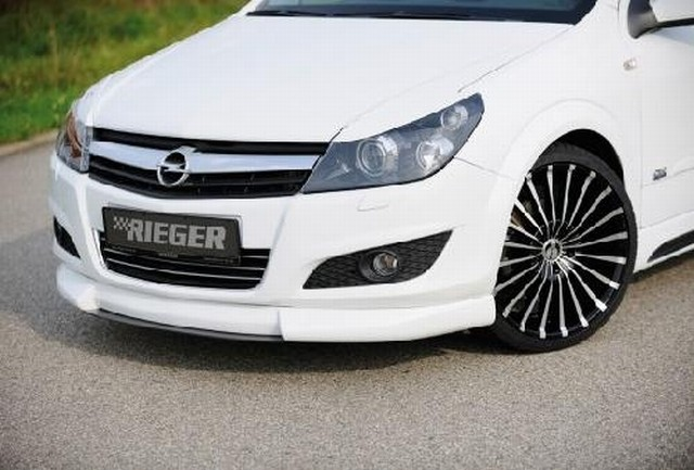 Rieger Frontlippe Opel Astra H ohne OPC/GTC