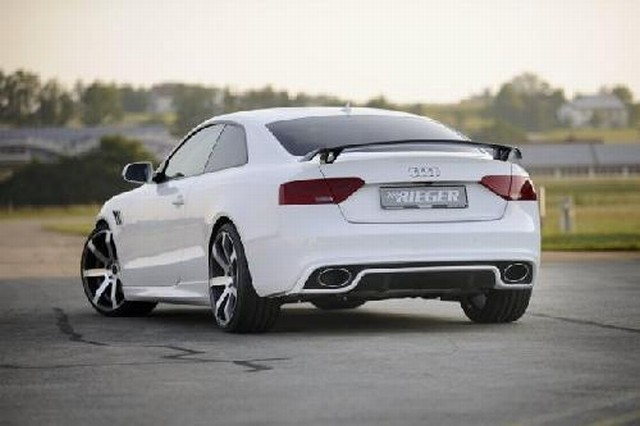 Rieger Heckeinsatz Audi A5/S5