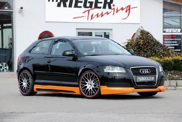 Rieger Frontlippe Audi A3 8P