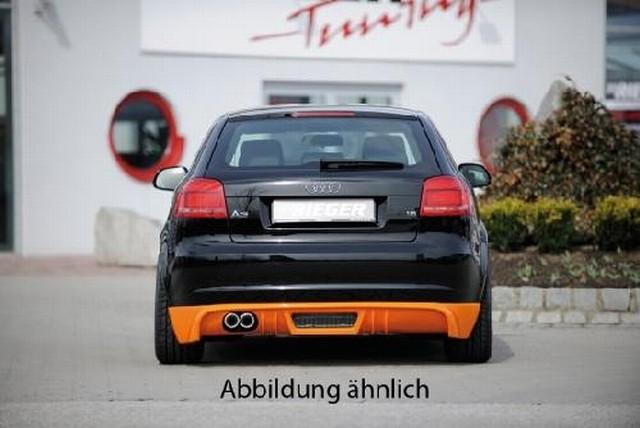 Rieger Heckansatz Audi A3 8P