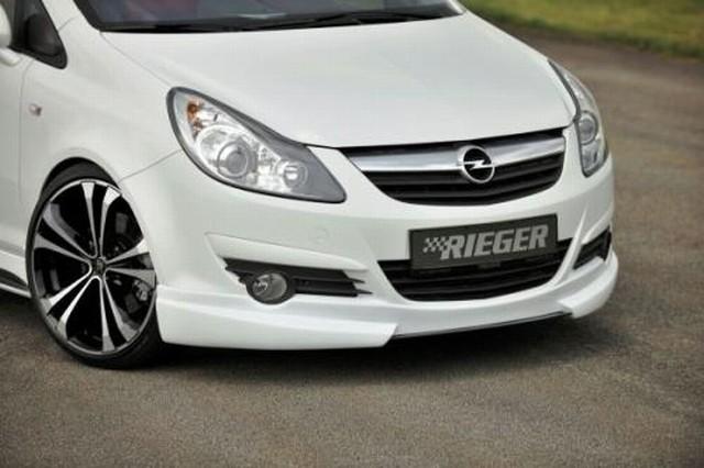 Rieger Frontlippe Opel Corsa D