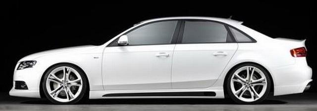 Rieger Carbon-Look Seitenschweller Audi A4 B8 ab 07