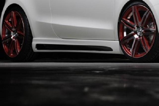 Rieger Seitenschweller Audi A1 inkl. S-Line Carbon-Look