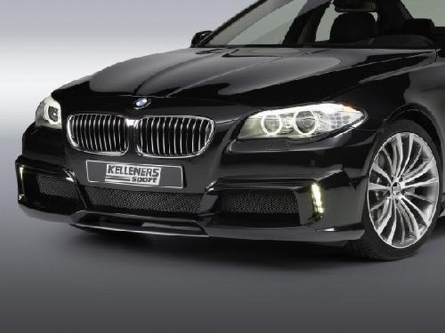 Kelleners Frontlippe BMW 5er F10/F11 Lim./Touring, mit LED Tagfahrlicht
