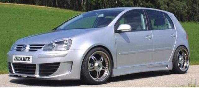 Frontspoilerstoßstange Sport Edition m.ABS Rippen und Frontgrill VW Golf 5