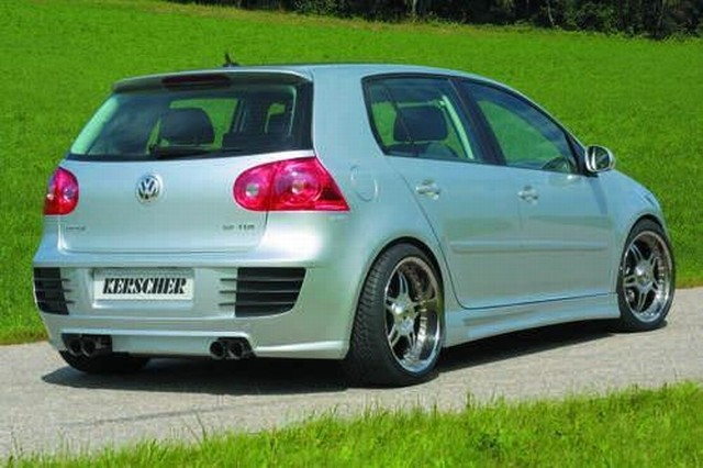 Heckschürze mit ABS-Rippen VW Golf 5