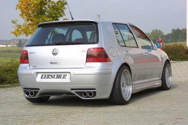 Heckschürzeneinsatz RS4 VW Golf 4