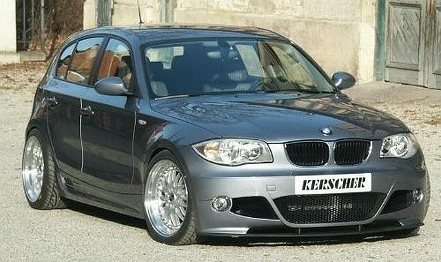 KM1 Frontstoßstange BMW 1er E87 Kerscher Tuning