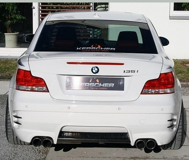 KM2 Heckstoßstange BMW 1er E82/88 Coupe/Cabrio Kerscher Tuning