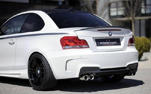 M-Look Heckstoßstange BMW 1er E82/88 Coupe/Cabrio Kerscher Tuning