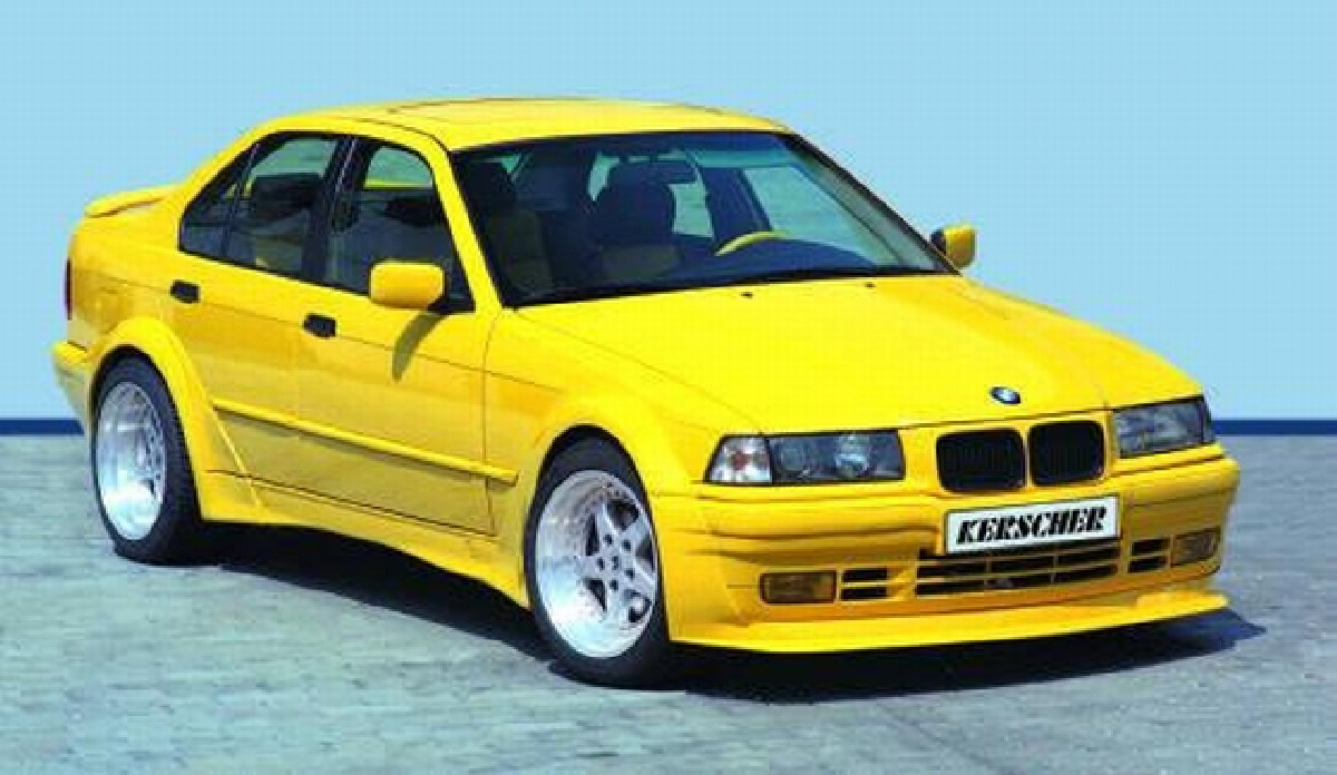Bodykit BMW 3er E36 Limousine DTM-Look Kerscher Tuning