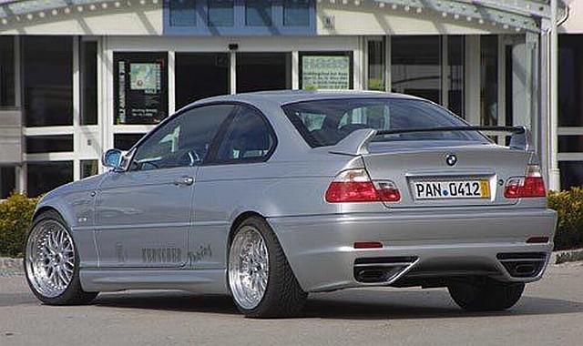 Kerscher M-Line Heckstoßstange BMW 3er E46 mit PDC