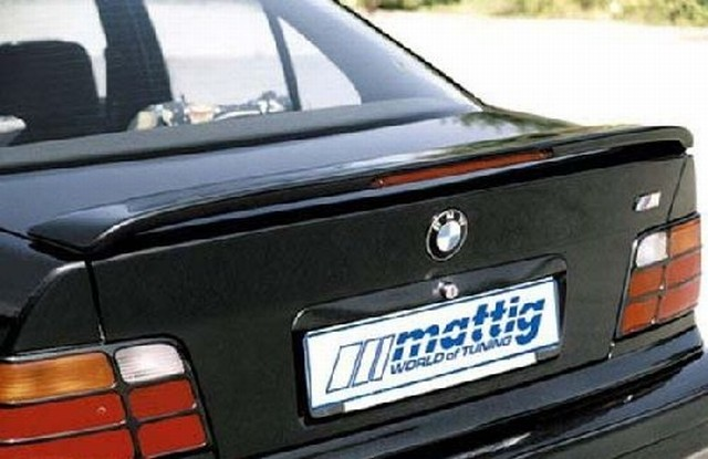 Mattig Heckspoiler BMW 3er E36 Limo, mit Bremsleuchte