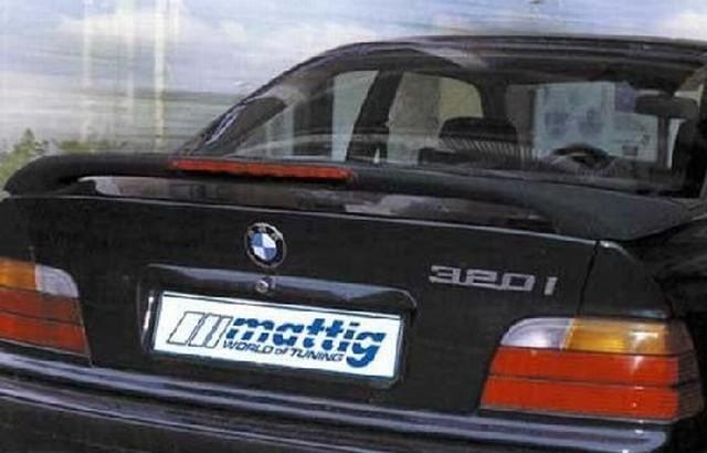 Mattig Heckspoiler BMW 3er E36 Limousine, mit Bremsleuchte