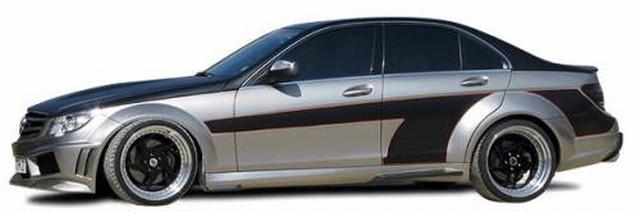 Seidl Seitenschweller Mercedes C-Klasse W204