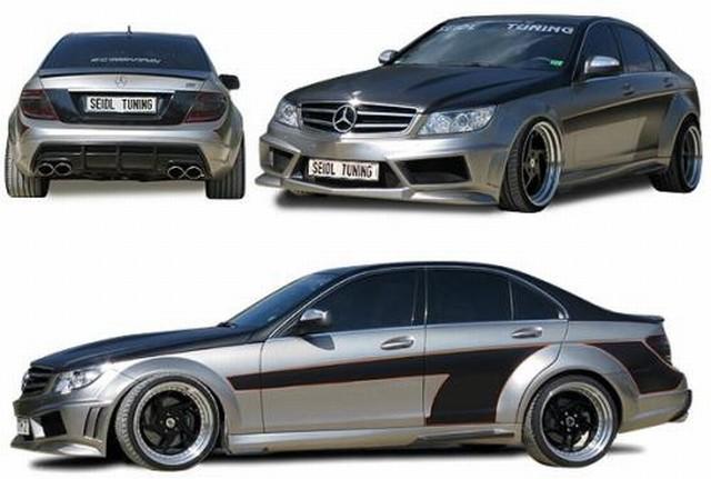 Seidl Seitenteilaufsatz links/rechts hinten Mercedes C-Klasse W204