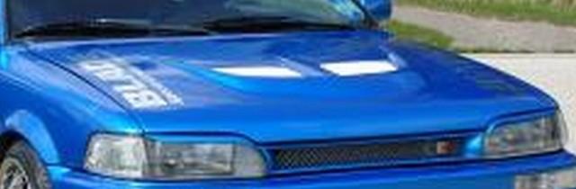 Toyota Corolla E9 Motorhaube