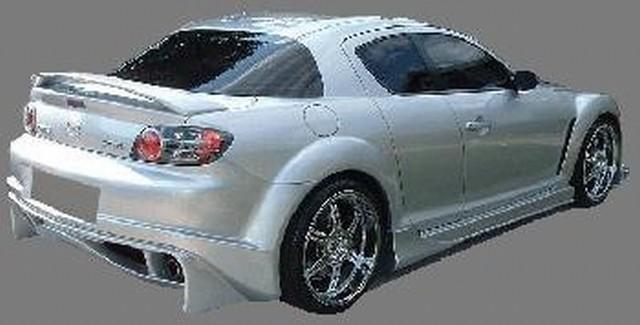 Heckstoßstange Mazda RX8