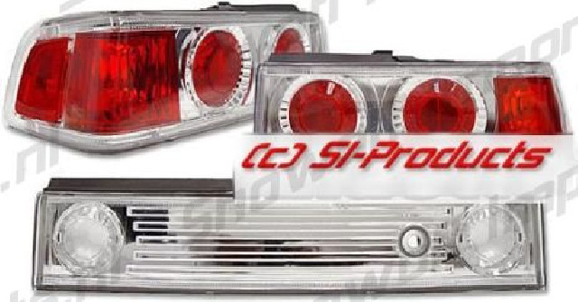 Honda CRX 88-91 LXS-Taillights Chrome